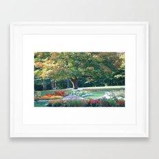 Kingsmere Gardens Framed Art Print