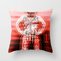 Space Ghost Throw Pillow