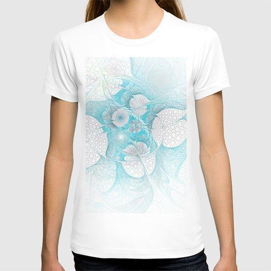 Turquoise Fractal T-shirt