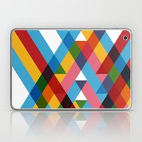 Ribbons Overlay ///www.p… Laptop & iPad Skin