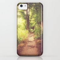 iPhone 5c Cases featuring The Path Home by Pete Edmunds