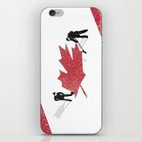 Snow in Canada iPhone & iPod Skin