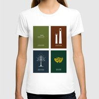 lord of the rings T-shirts featuring Lord of the Rings - Complete Minimalist Collection by Jamesy