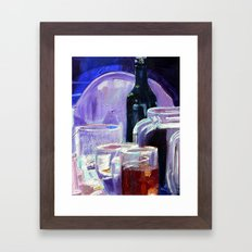 A Series of Wedding Dancer Still-Life Paintings 2. Framed Art Print
