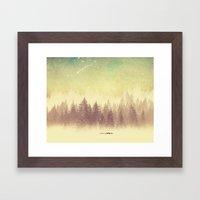 Winter's Journey  Framed Art Print
