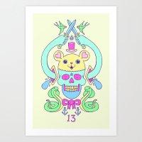 Triskaidekaphilia Art Print