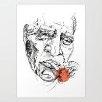 Howlin' Wolf - Get Your … Art Print
