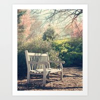 Waiting For You! Art Print