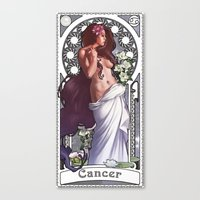 Zodiac Art Show - Cancer Canvas Print