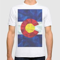 Colorado Mens Fitted Tee Ash Grey SMALL