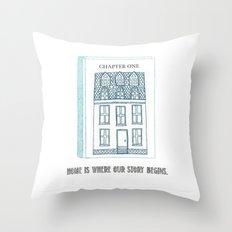 Home.... Throw Pillow