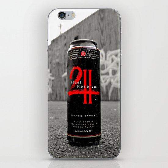 Urban malt liquor iPhone & iPod Skin