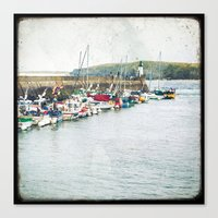 Houat #7 Canvas Print
