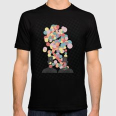 Pleased To Meet You Mens Fitted Tee Black SMALL