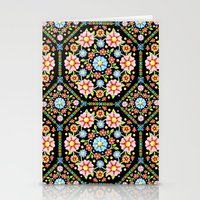 Millefiori Floral  Stationery Cards