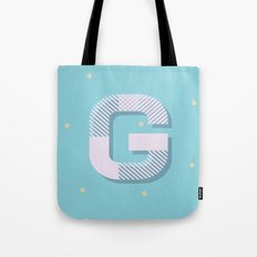 G is for Glamorous Tote Bag