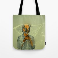 Year Of The Tiger  Tote Bag
