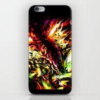 Metroid Metal: Ridley- Through the Fire.. iPhone & iPod Skin