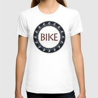 bike T-shirts featuring Bike by Phil Perkins