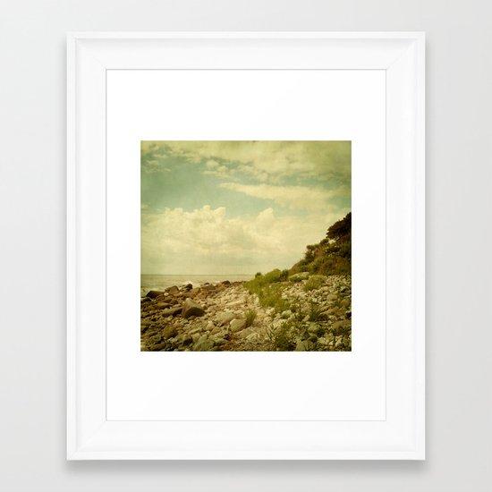 Isle of Fehmarn Framed Art Print