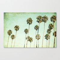 Palm Trees (California D… Canvas Print
