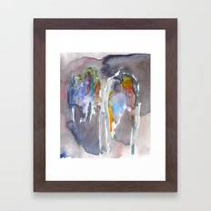 Two and Two again.  Framed Art Print