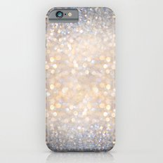 Glimmer of Light (Ombré Glitter Abstract) iPhone 6 Slim Case