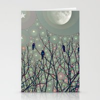 A Dawning With Black Bir… Stationery Cards