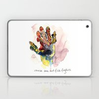 These Are Not Fish Finge… Laptop & iPad Skin