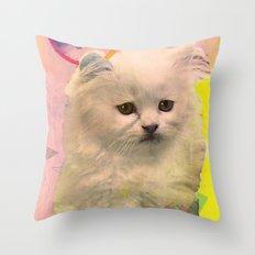 *meooooowmix* Throw Pillow