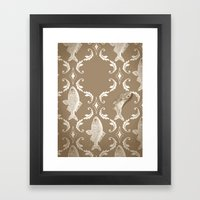 In Which A Fish Frees It… Framed Art Print