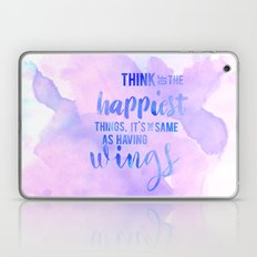 think of the happiest things part two Laptop & iPad Skin