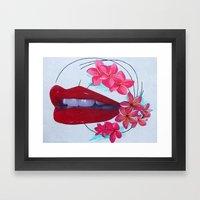 Shari Framed Art Print