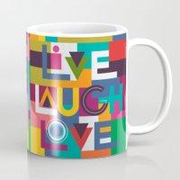 C13 LIVELAUGHLOVE v2 Mug