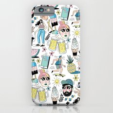 Summer Pattern iPhone 6 Slim Case