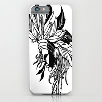 iPhone & iPod Case featuring Native Girl by The Art of Lefty