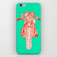 Cafe Racer Front View iPhone & iPod Skin