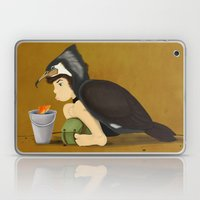 Little Black Cormorant Laptop & iPad Skin