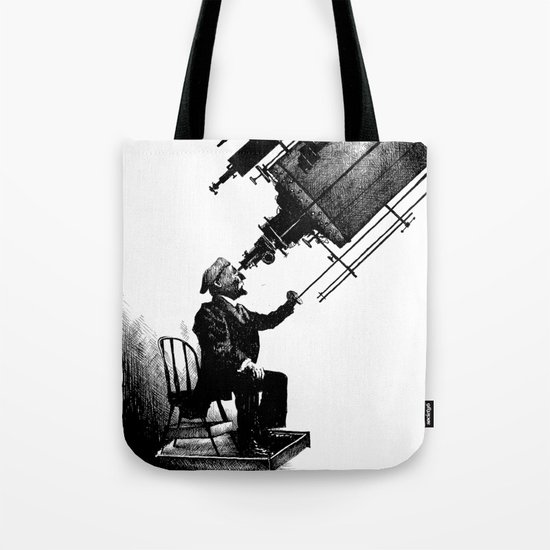 Who's Looking at Who? Tote Bag