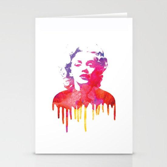 Marilyn Stationery Card