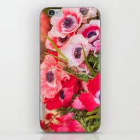 Anemones  and Bumblebee 5946 iPhone & iPod Skin