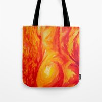 Abstract body Tote Bag