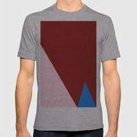 Blue Triangle Mens Fitted Tee Athletic Grey SMALL