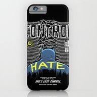 Post-Punk Bat: Control iPhone 6 Slim Case