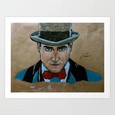 Arnold Rothstein (Boardwalk Empire) Art Print