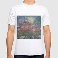 Old Main Mens Fitted Tee Ash Grey SMALL