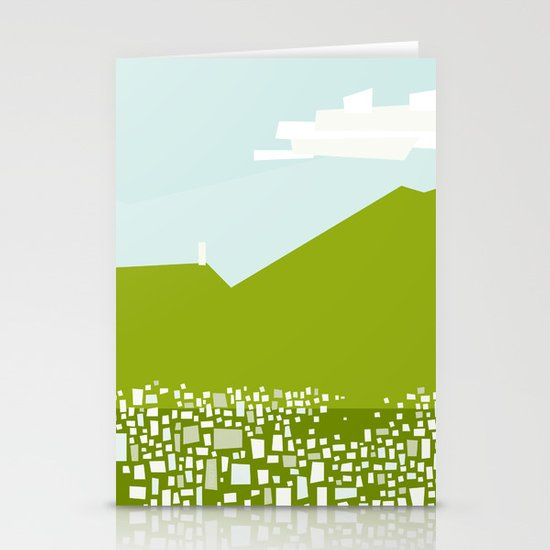 Caracas City by Friztin Stationery Card