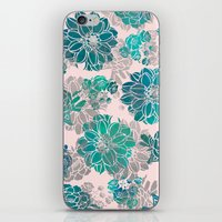 Flower Pattern Design #4 iPhone & iPod Skin