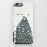 Let It Snow iPhone 6 Slim Case