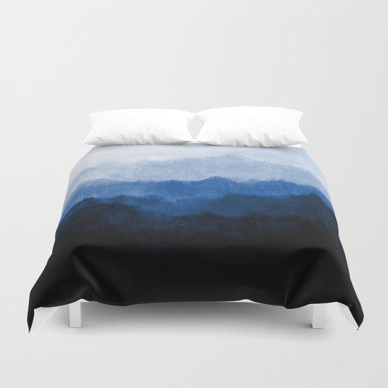 Mists - Blue Duvet Cover